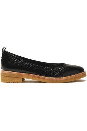 LANVIN Python loafers