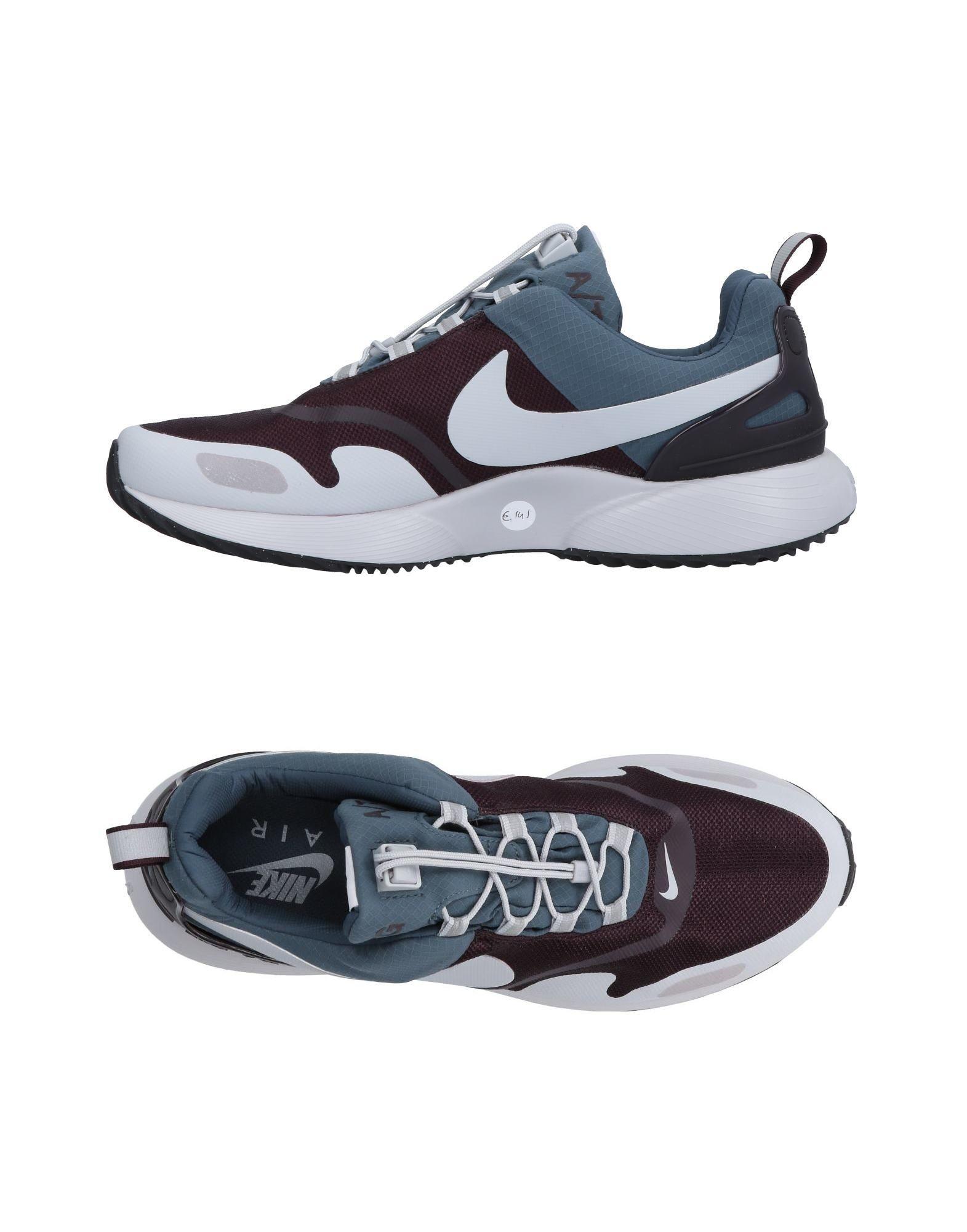 NIKE Herren Low Sneakers & Tennisschuhe Farbe Dunkelviolett Größe 14