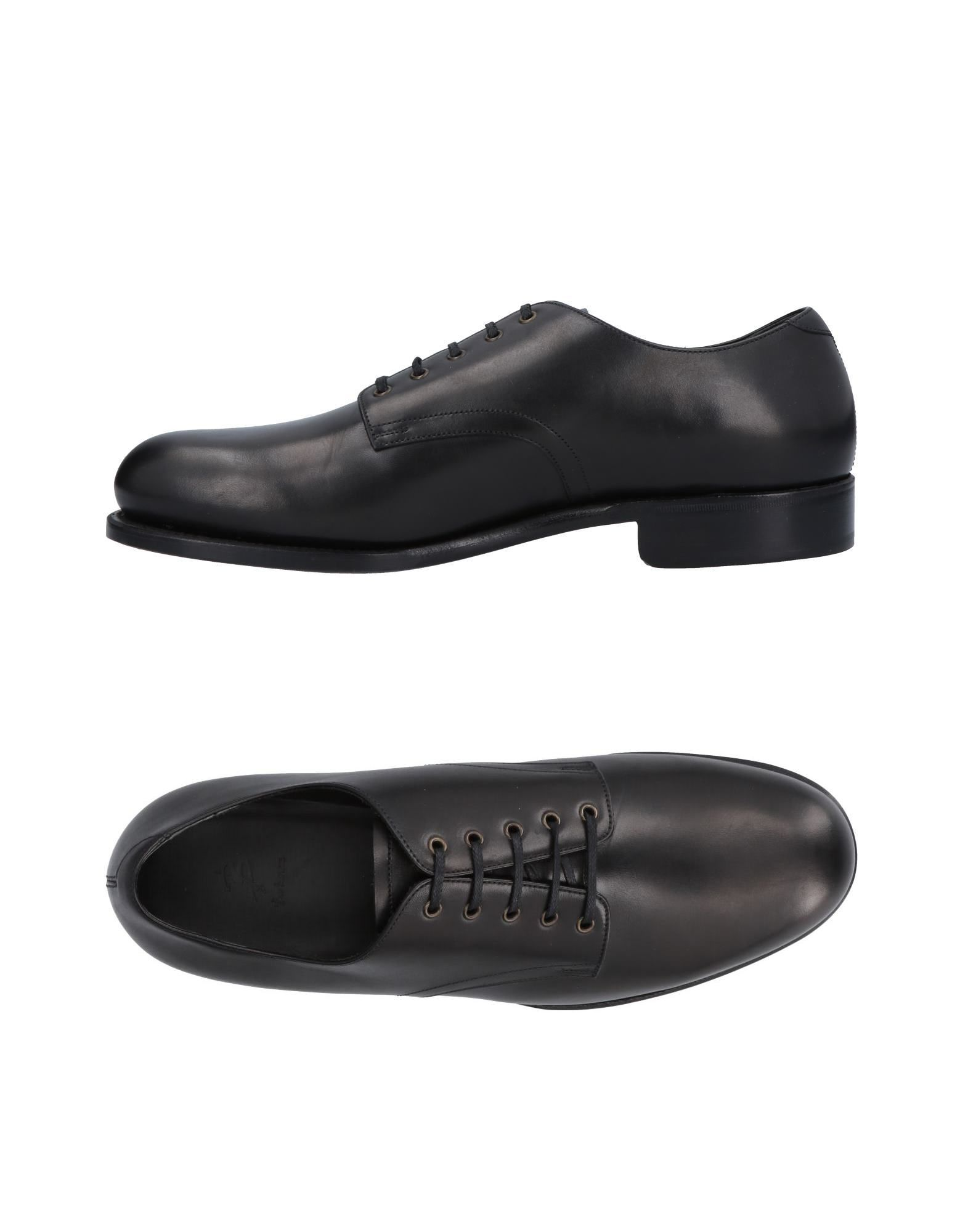 BARBANERA Laced Shoes in Black
