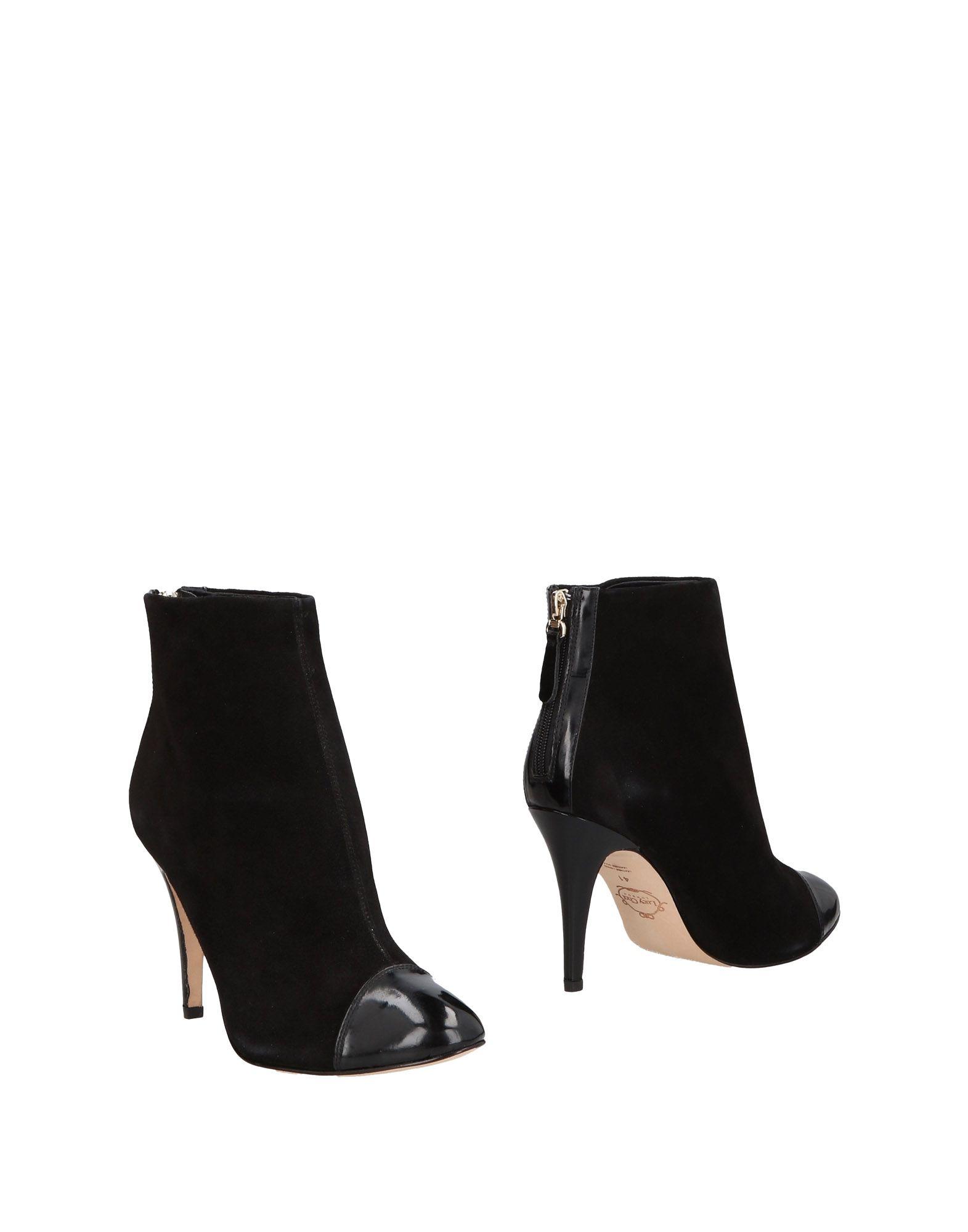 LUCY CHOI London Полусапоги и высокие ботинки кардиган lucy