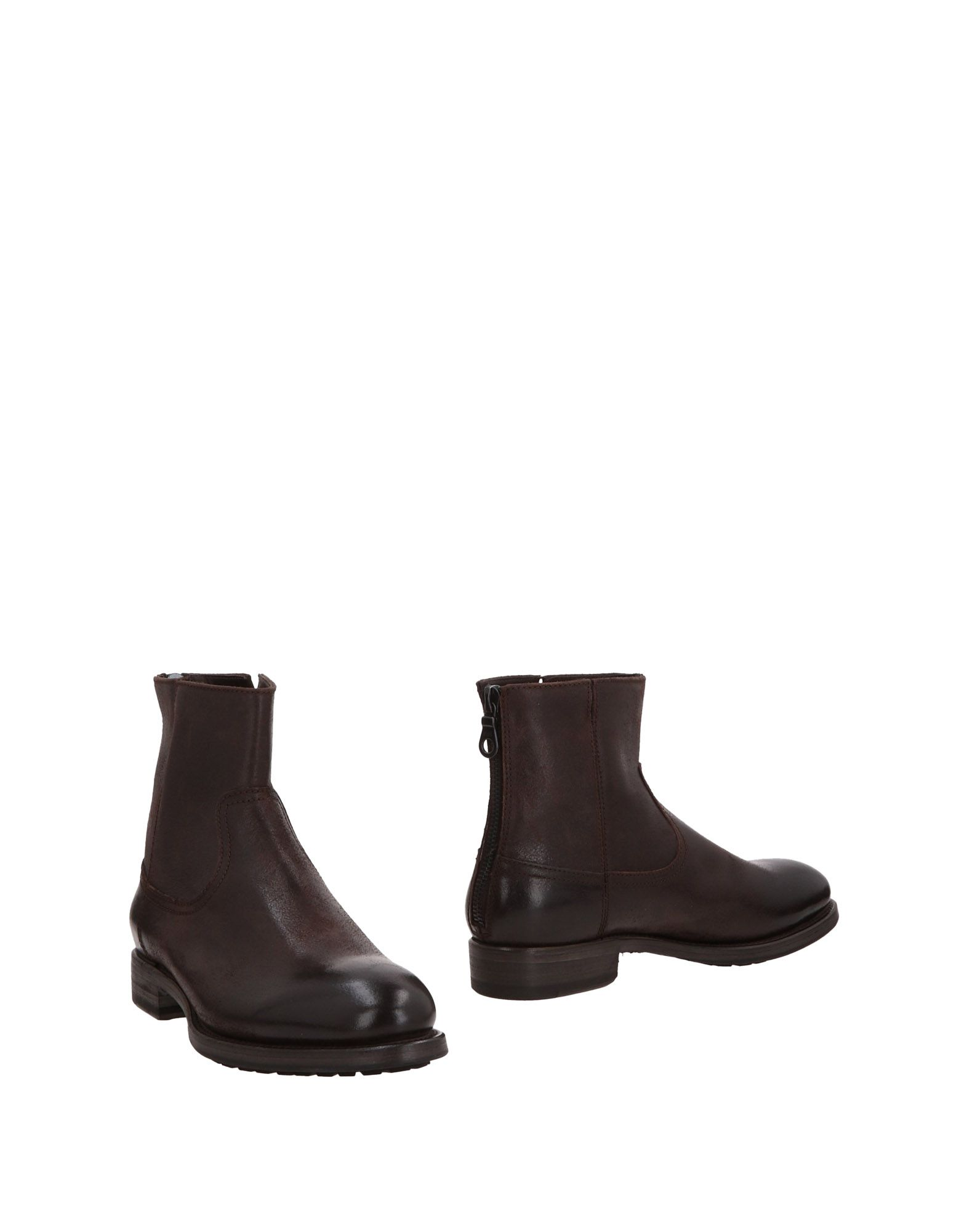 PROJECT TWLV Boots in Dark Brown