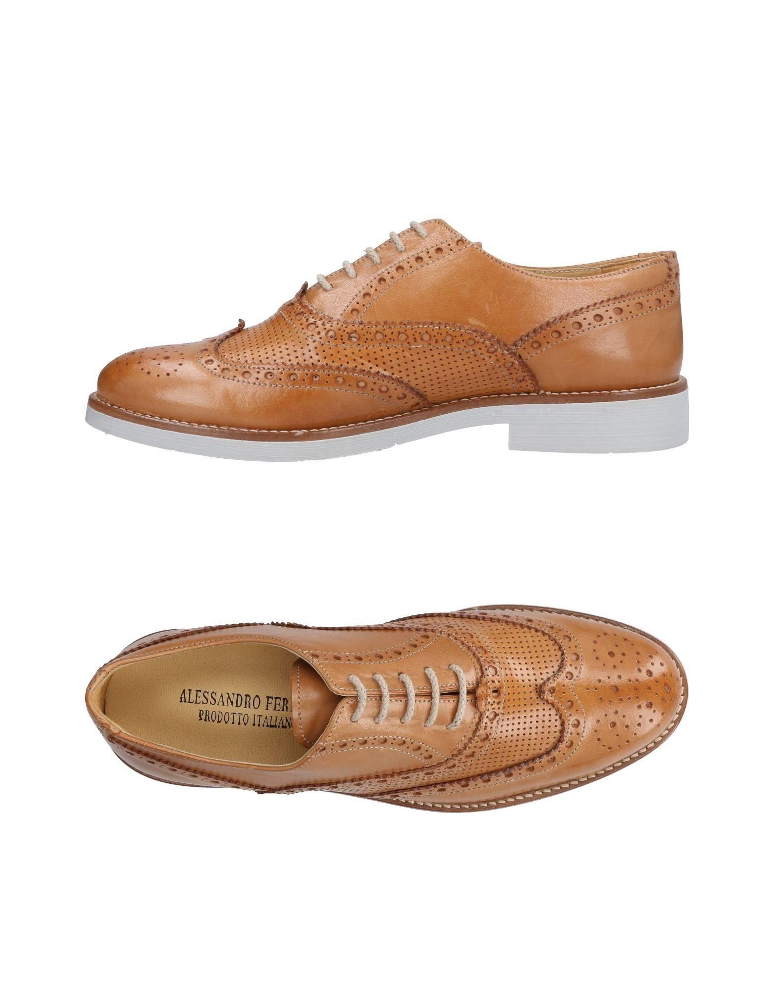 где купить ALESSANDRO FERRARI Обувь на шнурках по лучшей цене