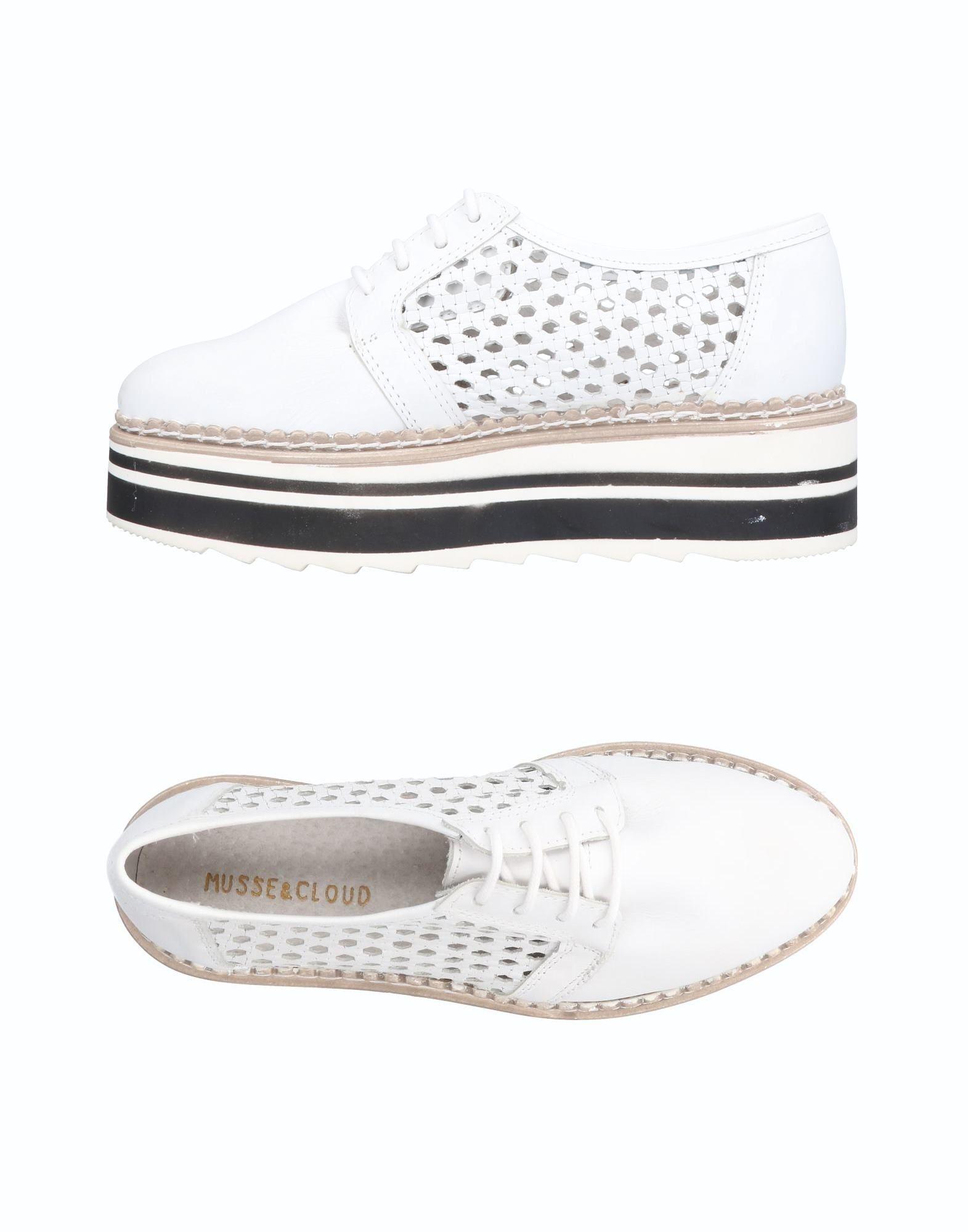 Фото - MUSSE & CLOUD Обувь на шнурках обувь на высокой платформе dkny