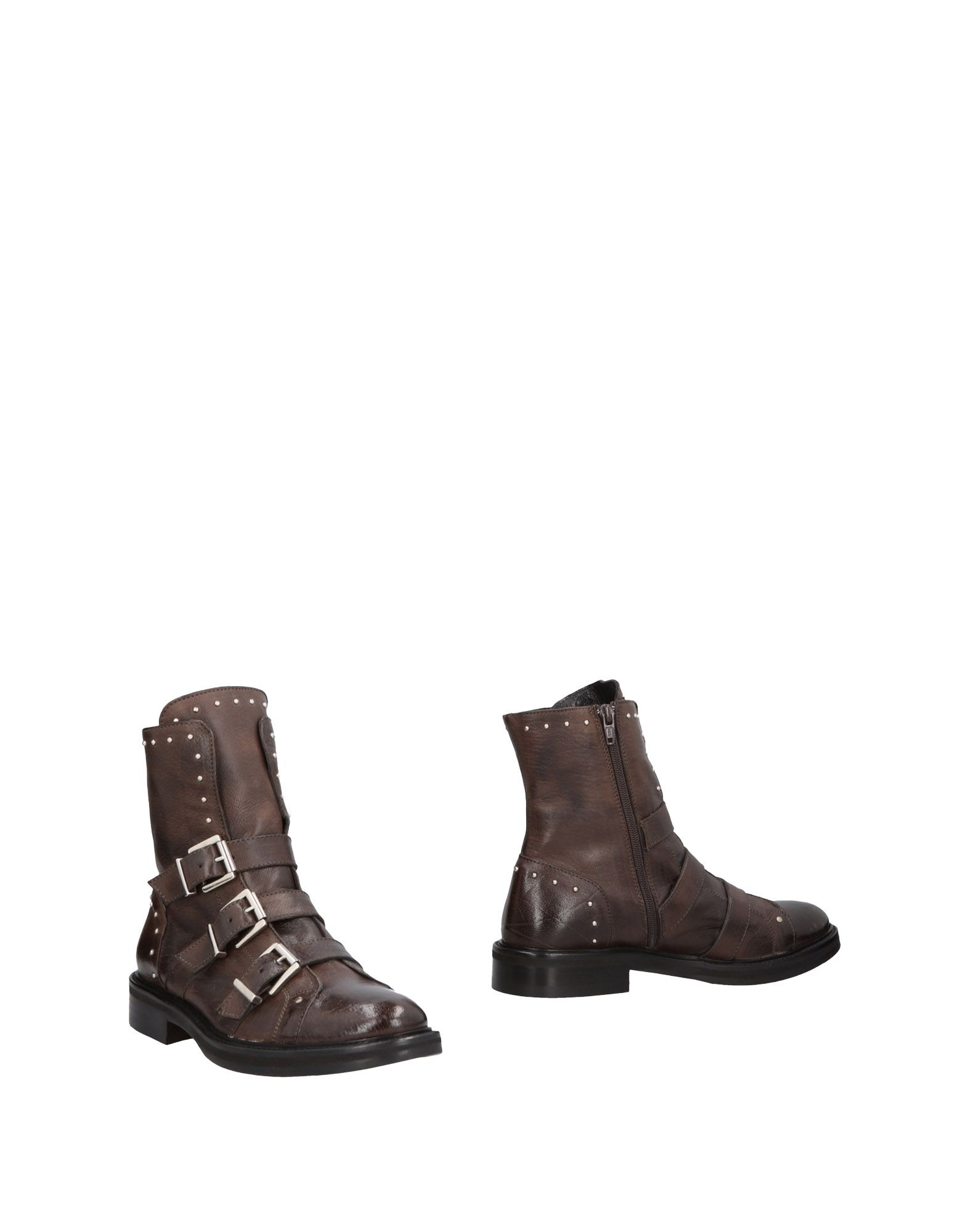 NICOLA BARBATO Полусапоги и высокие ботинки
