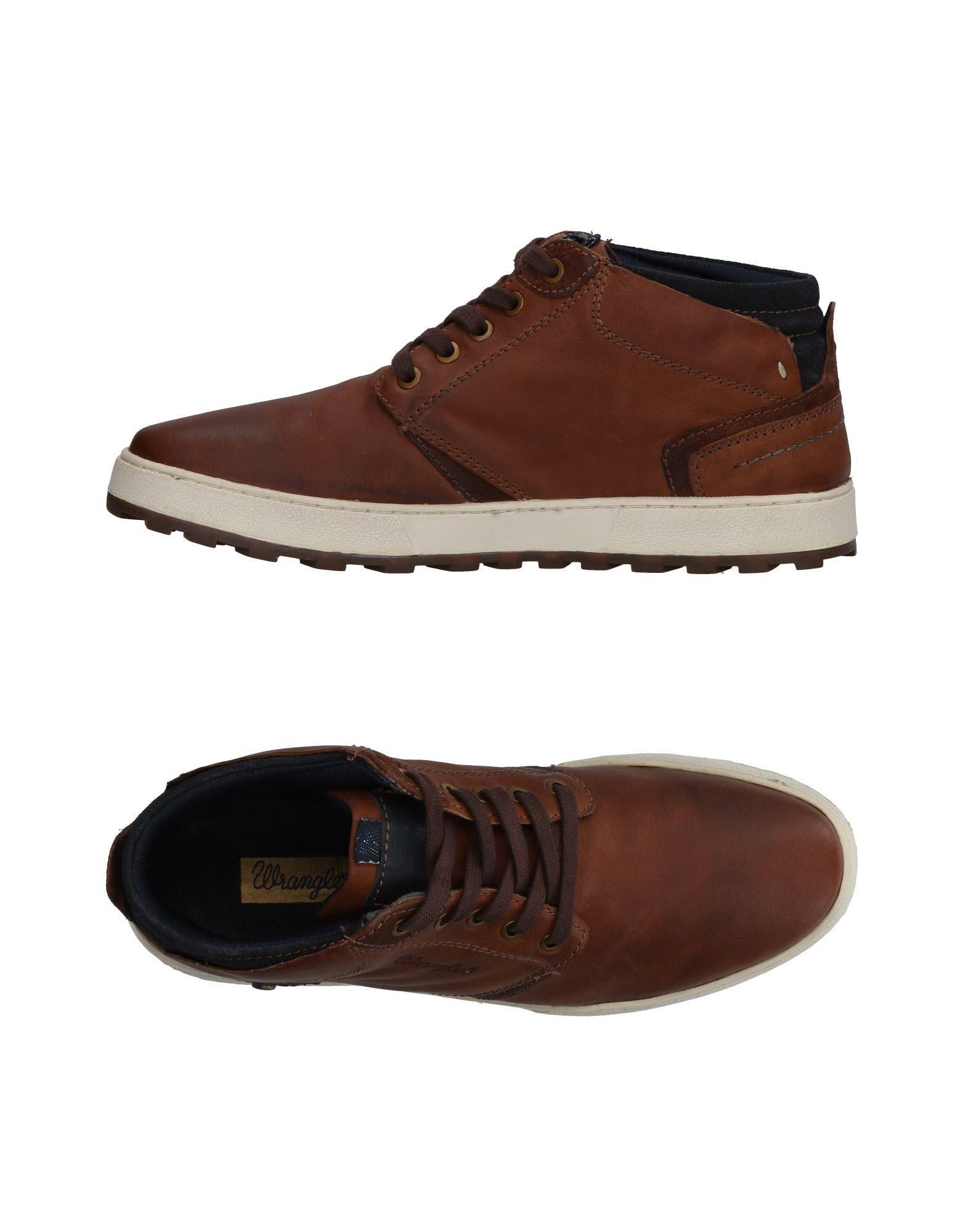 WRANGLER Высокие кеды и кроссовки