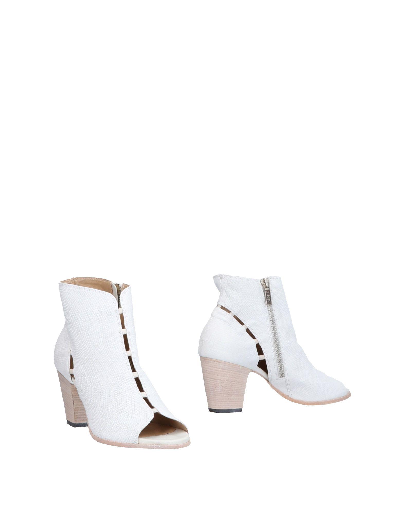 《送料無料》I.N.K. Shoes レディース ショートブーツ ホワイト 36 革