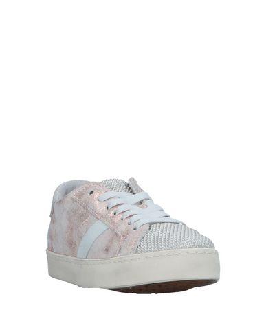 D.A.T.E. KIDS Mädchen Low Sneakers & Tennisschuhe Hellrosa Größe 30 Leder Gewebefasern