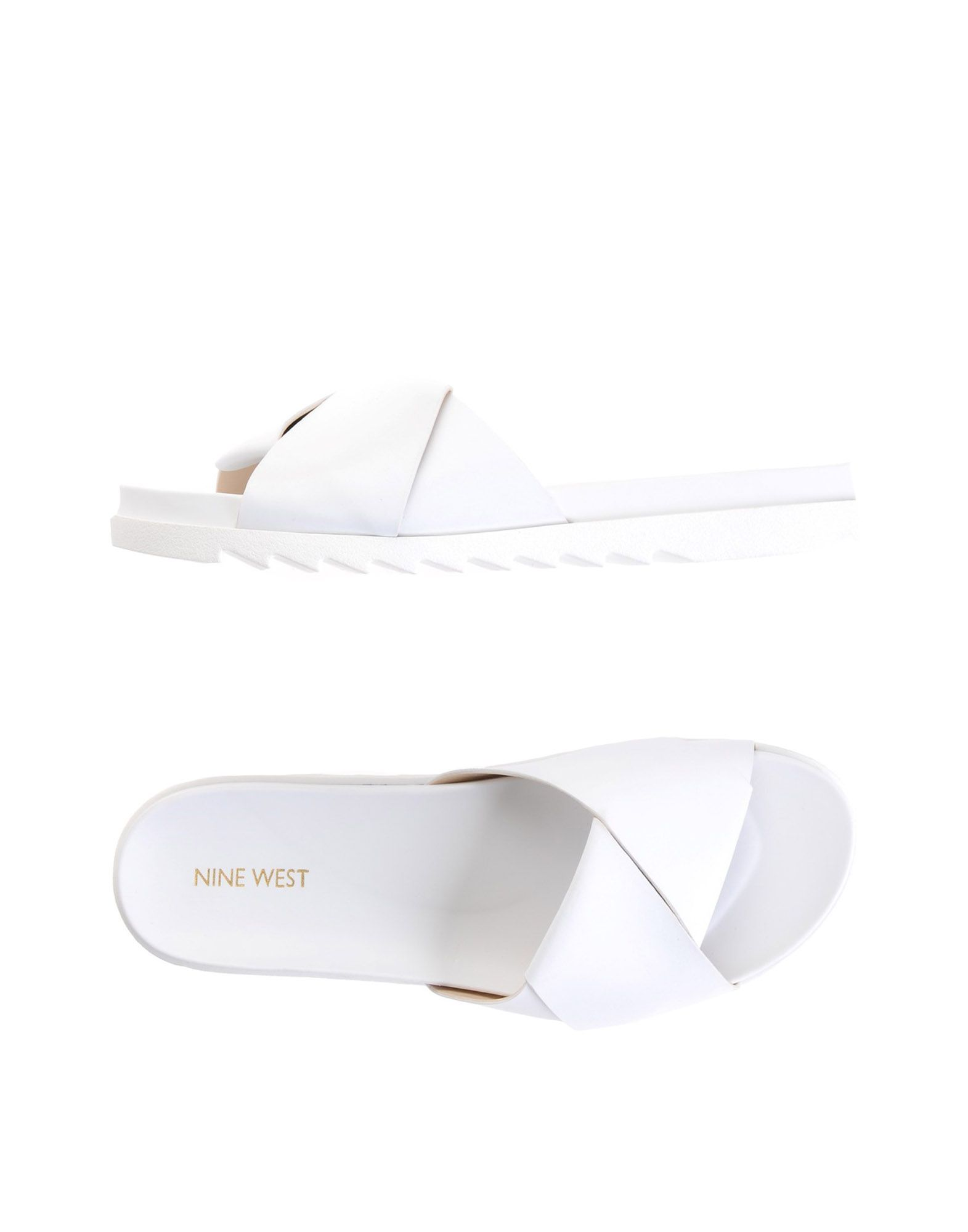 NINE WEST Сандалии nine west women s amedea leather ballet flat