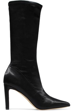 SIGERSON MORRISON Holly stretch-satin sock boots