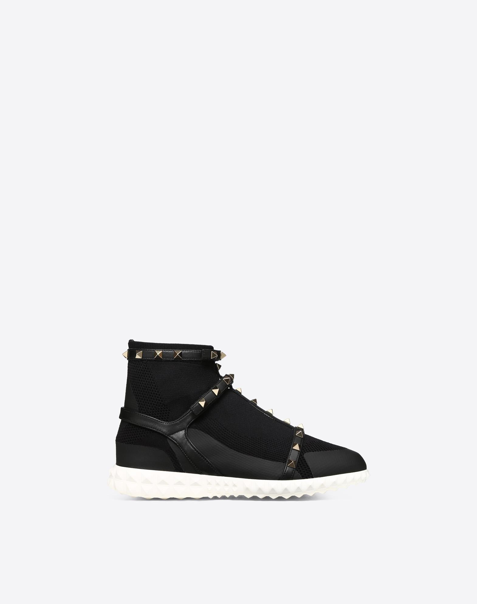 Rockstud Caged Sock Sneaker