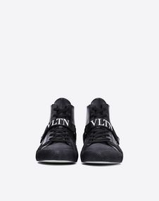 VLTN HIGH-TOP SNEAKER WITH CAMOUFLAGE DETAILS