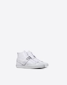 VLTN HIGH-TOP TRAINER WITH CAMOUFLAGE DETAILS