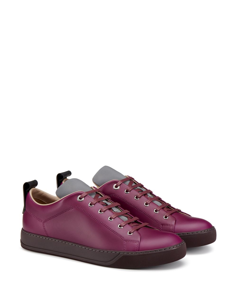 LOW-TOP SNEAKER WITH REFLECTIVE TONGUE - Lanvin