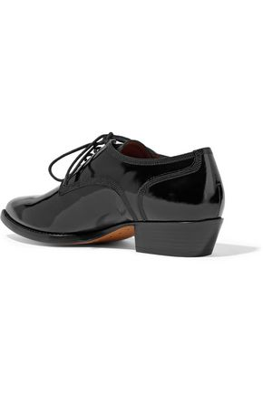 VALENTINO GARAVANI Patent-leather brogues
