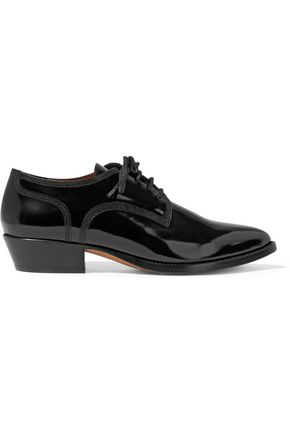VALENTINO Patent-leather brogues