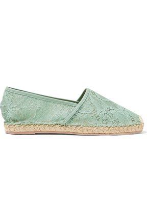 VALENTINO Corded lace espadrilles