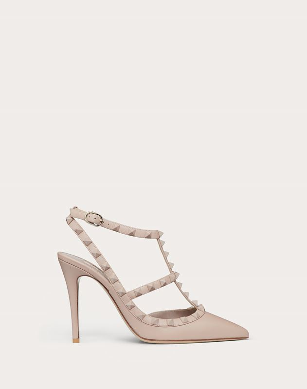 Lacquer studs Rockstud caged Pump 100mm