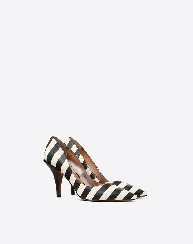 Striped Pumps