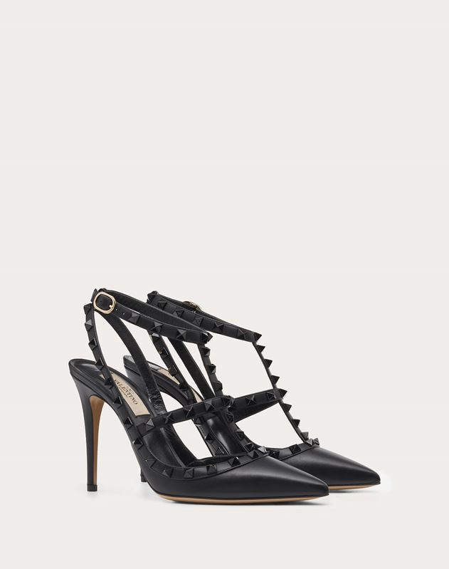Lacquer Rockstud Pump 100mm