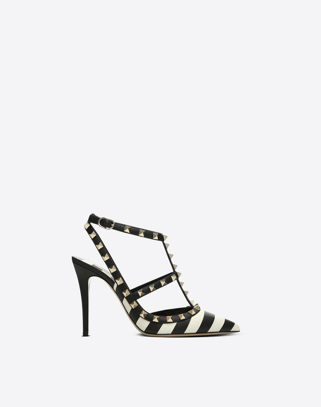Striped Cage Rockstud Pump 100mm