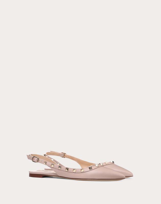 Rockstud Slingback Ballet Flat