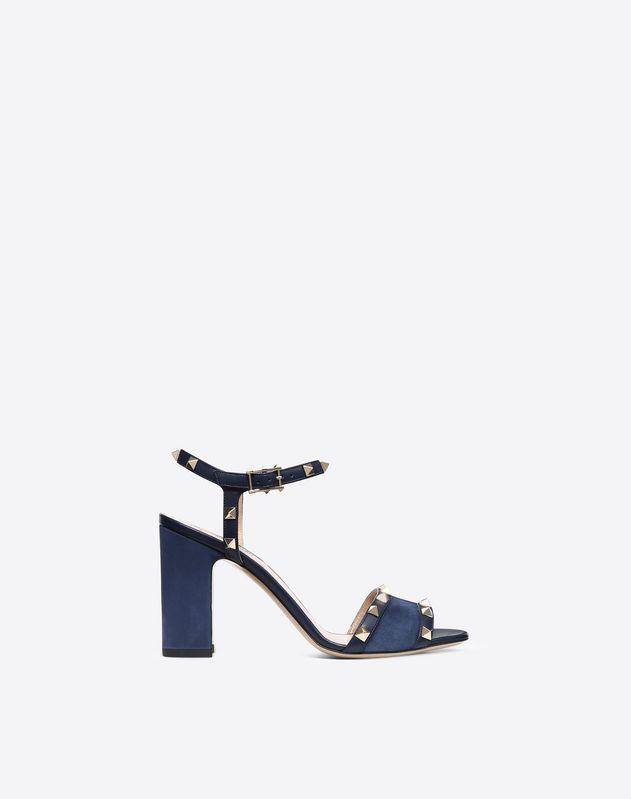 4a50869868d78 Suede Rockstud Sandal 90mm for Woman