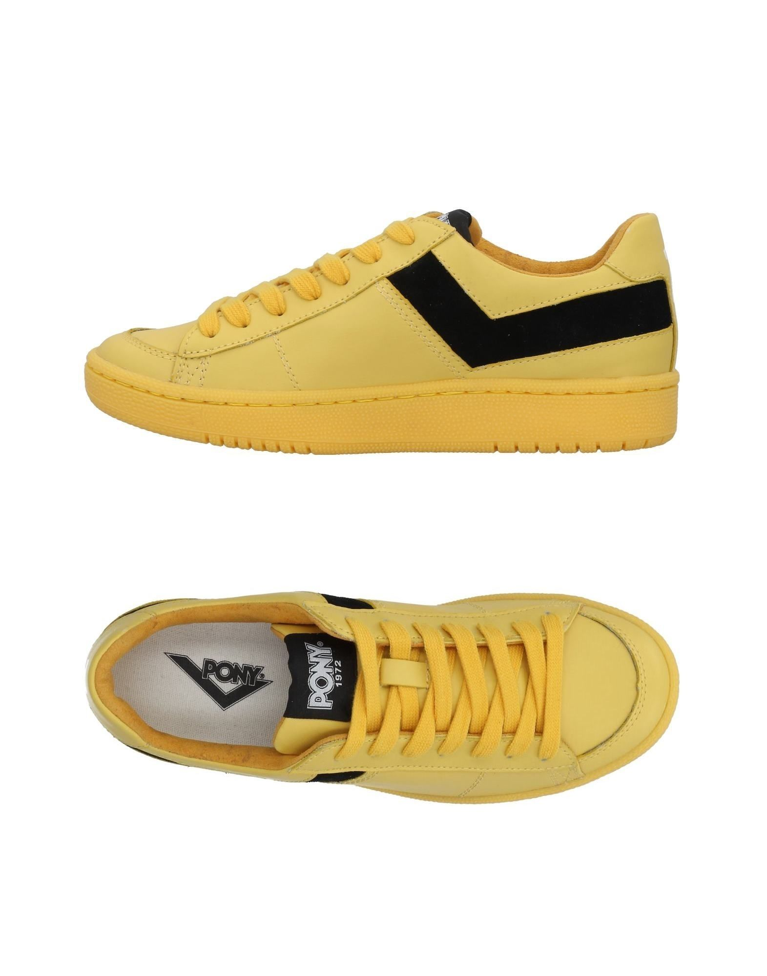 PONY Sneakers in Yellow