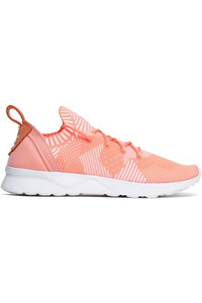 ADIDAS ORIGINALS ZX Flux Adv Virtue PK stretch-knit sneakers