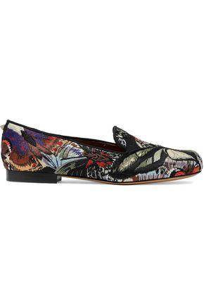 VALENTINO GARAVANI Jacquard slippers