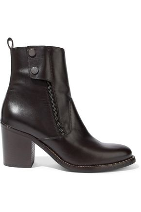 BELSTAFF Dursley leather ankle boots