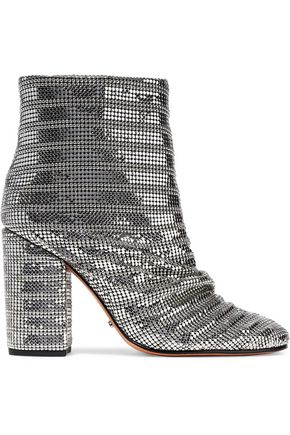 SCHUTZ Chainmail ankle boots