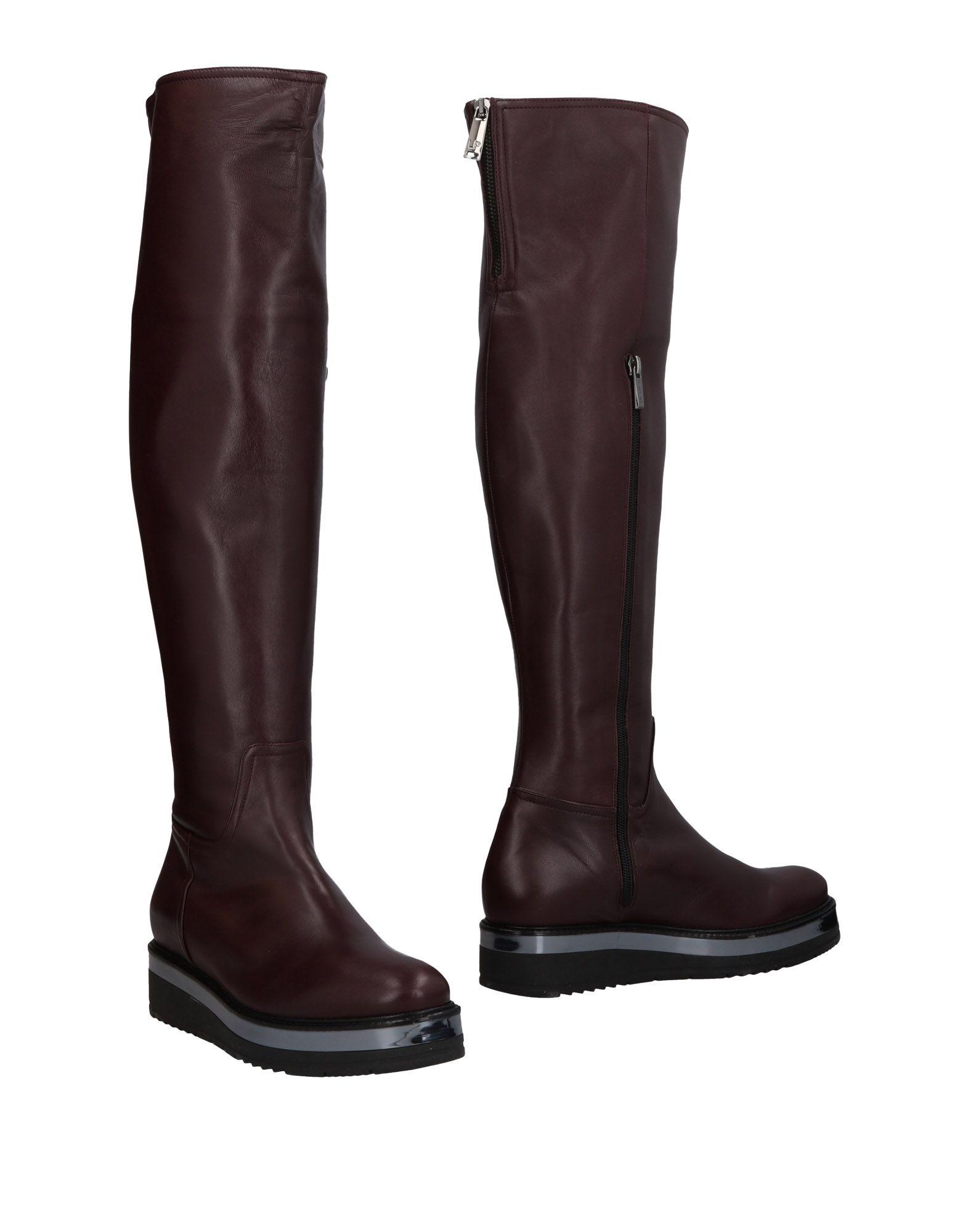 LORETTA PETTINARI Сапоги exull женские ботфорты сапоги вышеколена с толстым и низким каблуком