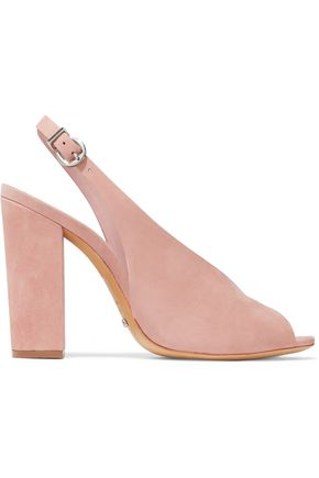 SCHUTZ Nubuck slingback sandals