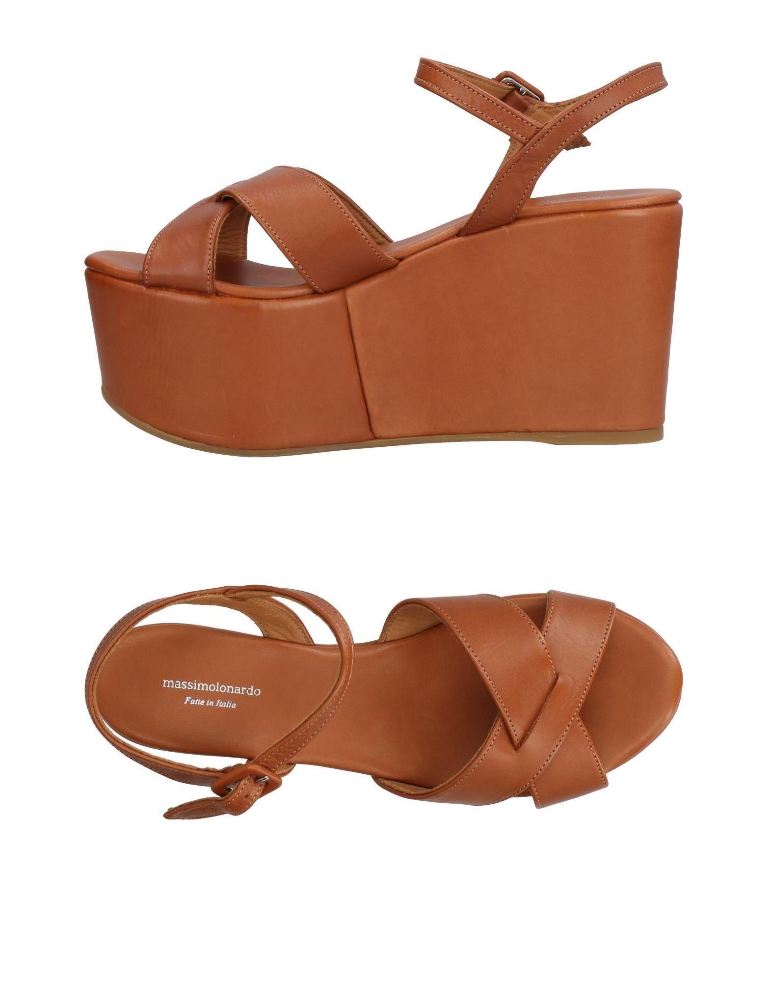 MASSIMO LONARDO Sandals in Tan