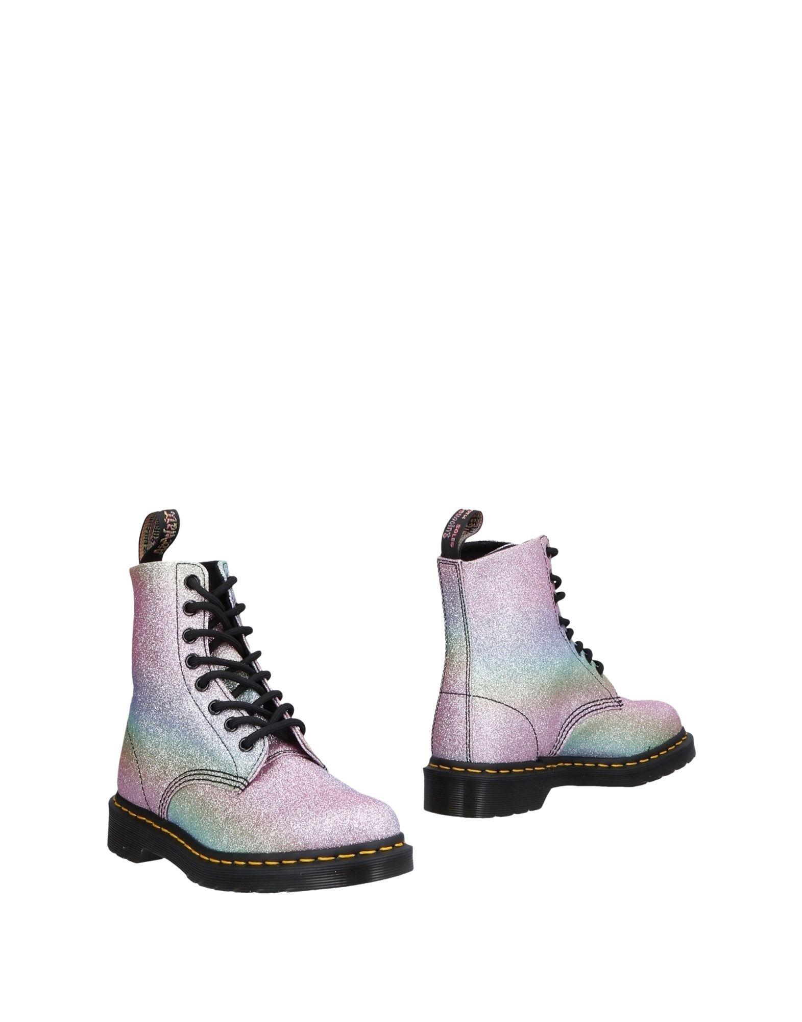 DR. MARTENS Полусапоги и высокие ботинки ботинки xti ботинки без каблука