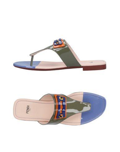 zapatillas FENDI Sandalias de dedo mujer