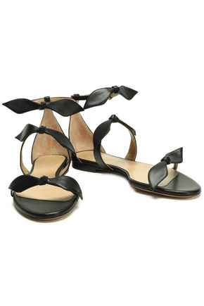 CHLOÉ Mike knotted leather sandals