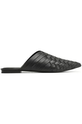 SIGERSON MORRISON Woven leather slippers