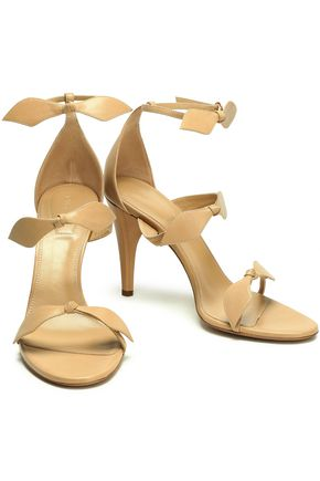 CHLOÉ Knotted leather sandals