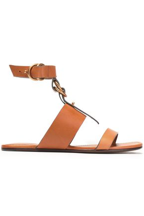 CHLOÉ Kingsley buckled leather sandals