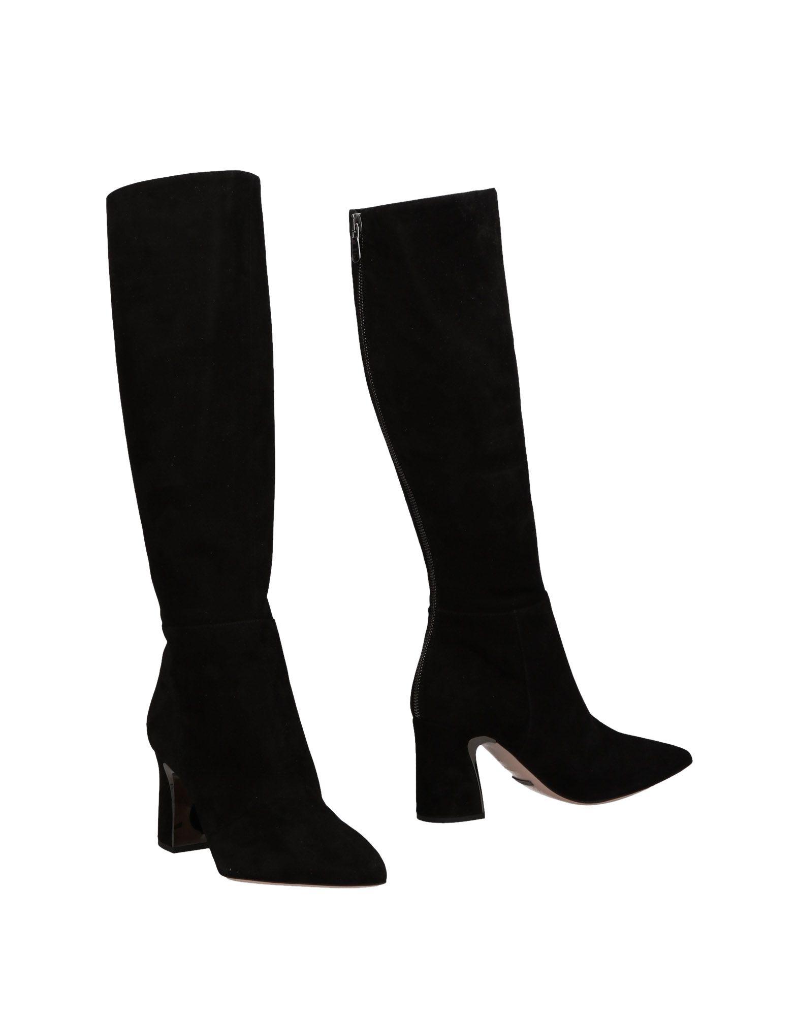 SEBASTIAN Boots in Black