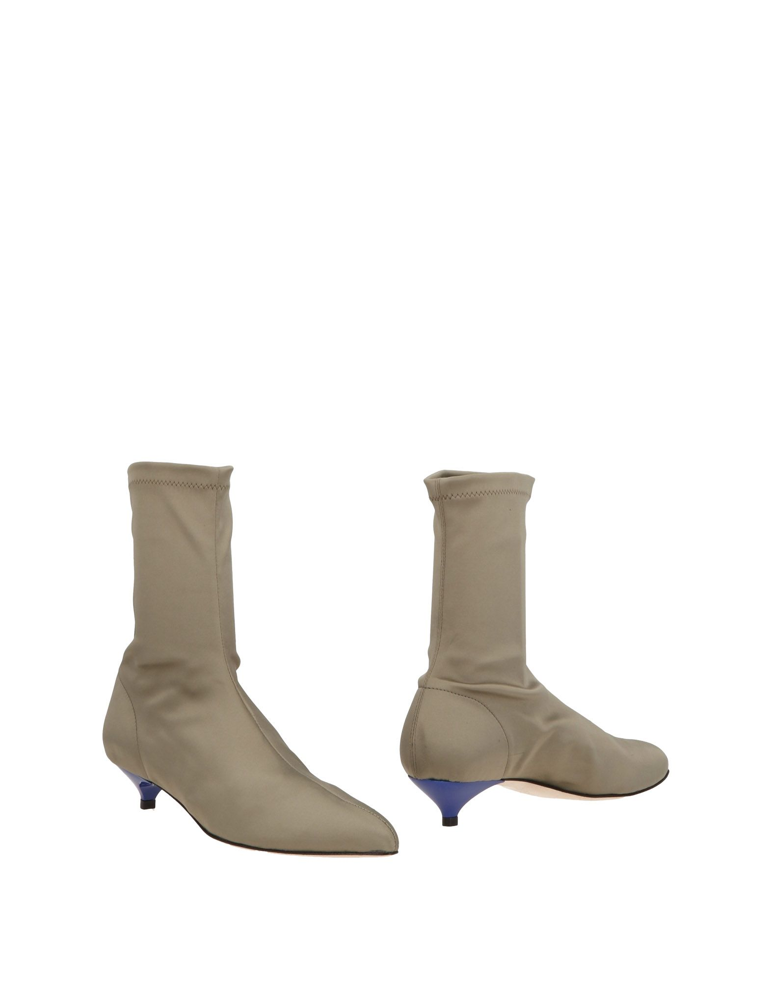 Ankle Boots in Military Green