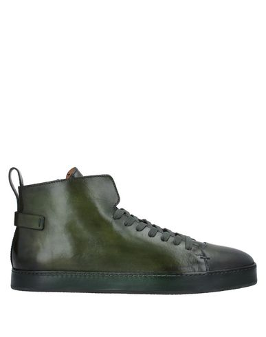 Фото - Высокие кеды и кроссовки темно-зеленого цвета