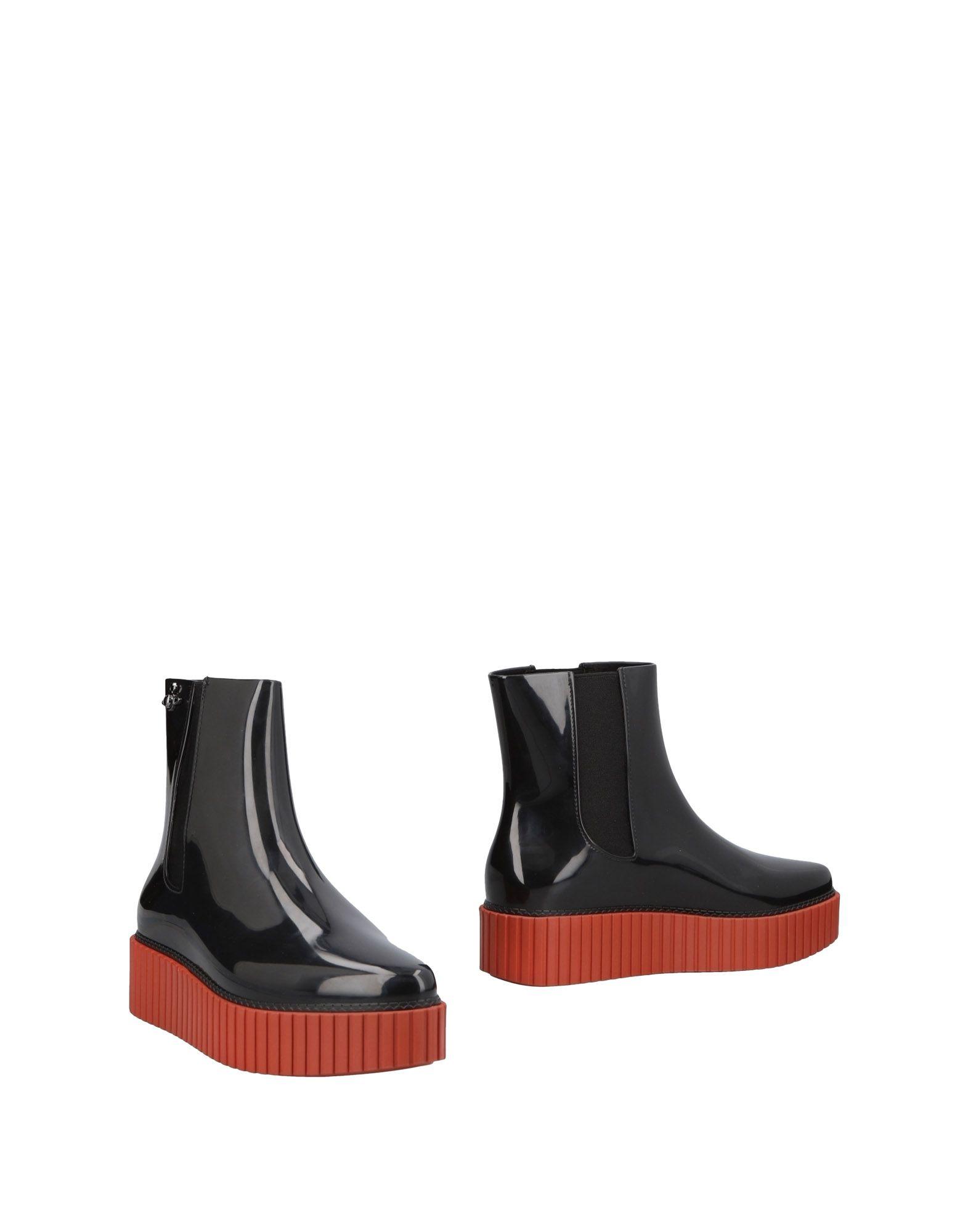 Фото - VIVIENNE WESTWOOD ANGLOMANIA + MELISSA Полусапоги и высокие ботинки