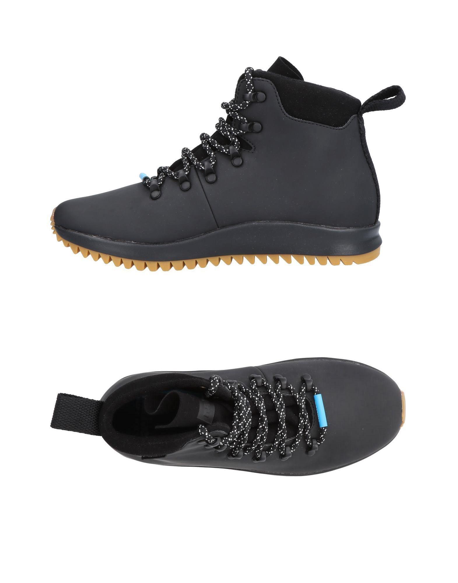 NATIVE Высокие кеды и кроссовки