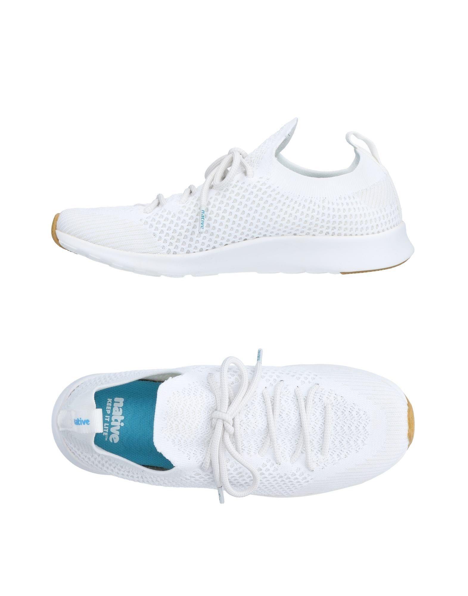 NATIVE Sneakers in White