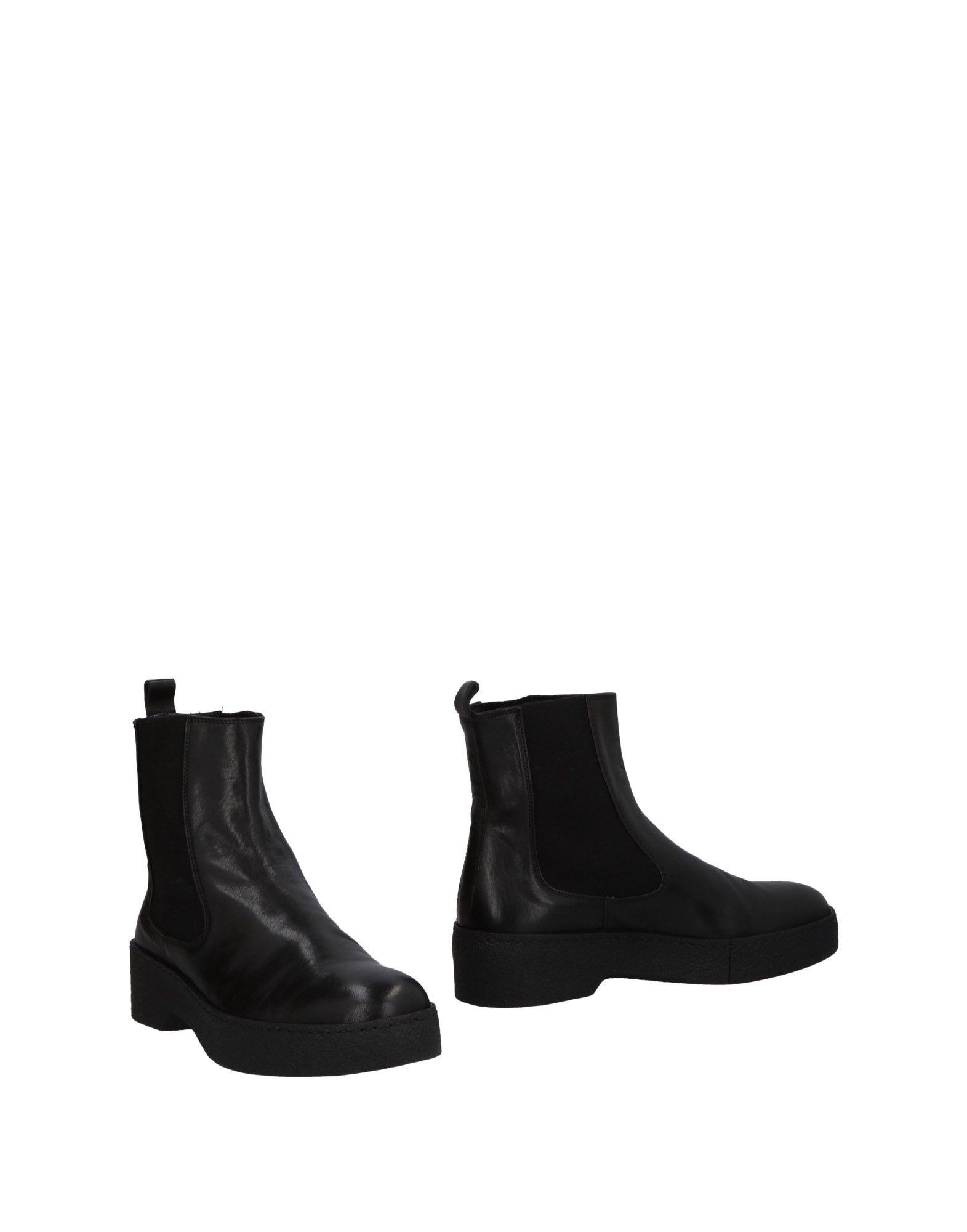 《送料無料》I.N.K. Shoes レディース ショートブーツ ブラック 35 革