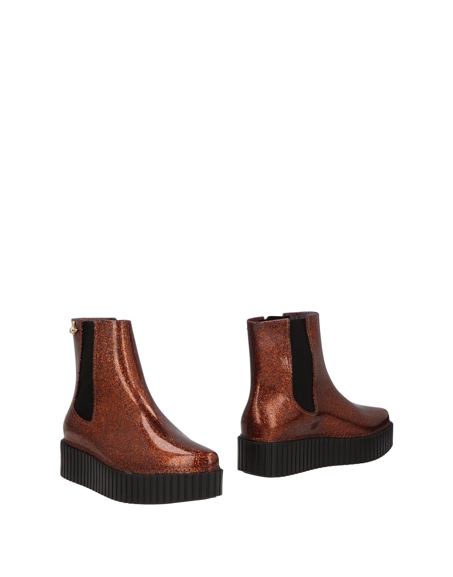VIVIENNE WESTWOOD ANGLOMANIA + MELISSA Полусапоги и высокие ботинки резиновые полусапоги melissa melissa me485agcqzc8