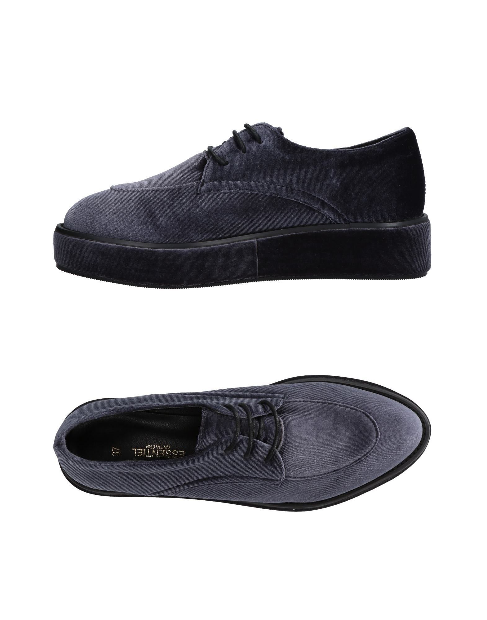 ESSENTIEL ANTWERP Обувь на шнурках цены онлайн
