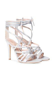 ALBERTA FERRETTI High-heeled sandals Woman f
